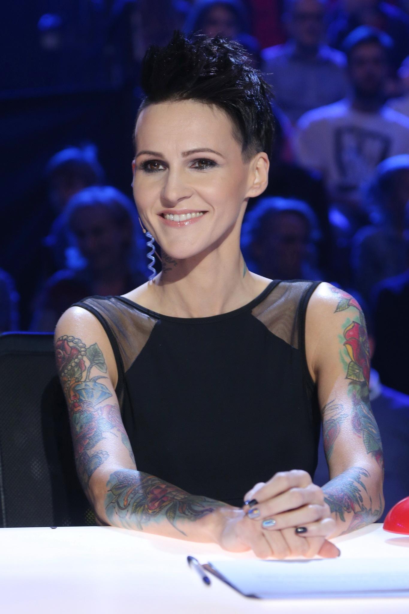 Agnieszka Chylińska podczas finału